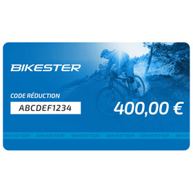Chèque cadeau de 400 €